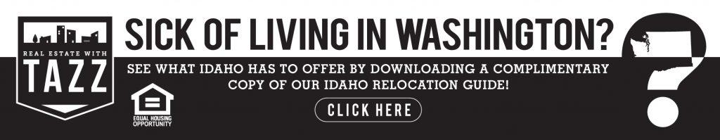 Relocating to Idaho - Washington