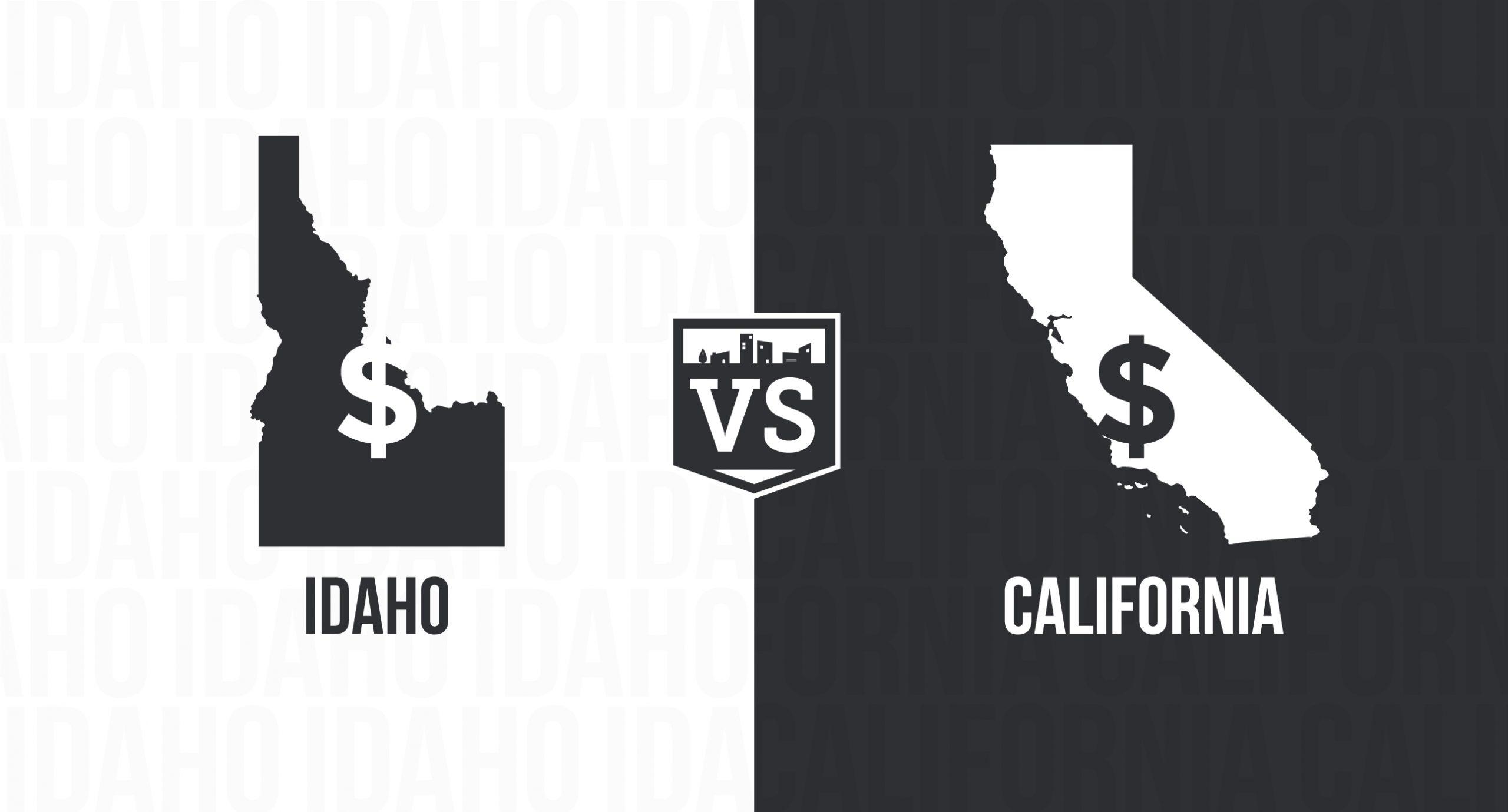 California vs Idaho